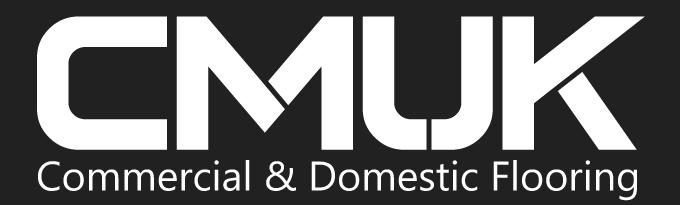 CMUK Flooring Logo Black and White